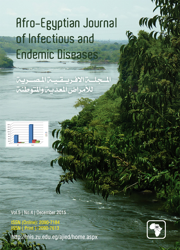 Afro-Egyptian Journal of Infectious and Endemic Diseases